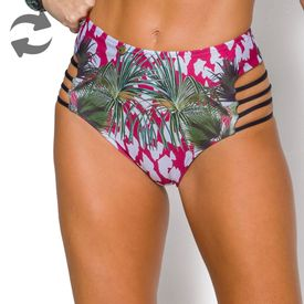 Hot Pant Detalhe Tiras Laterais Feeling